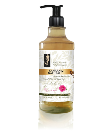 Olive Oil and Rose Oil Liquid Soap